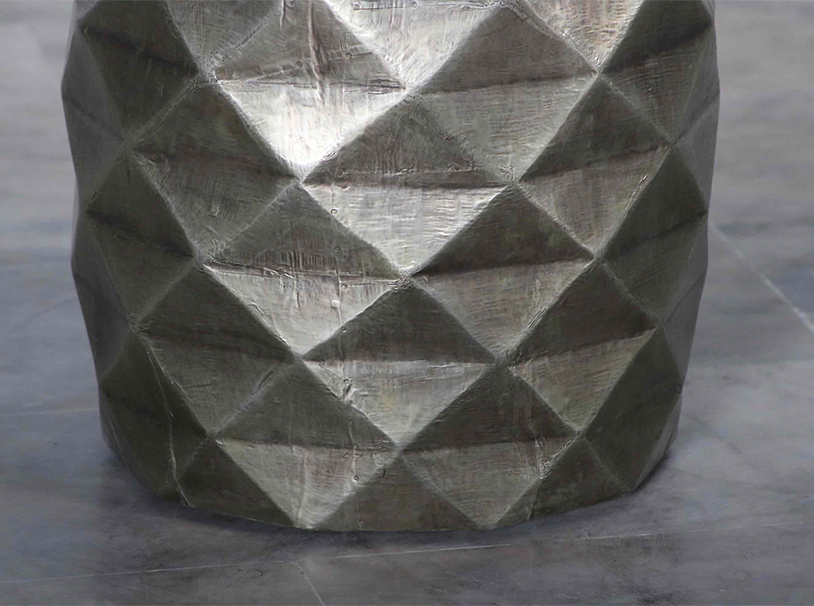 Corso Abbott Diamond Relief Stool/Side Table
