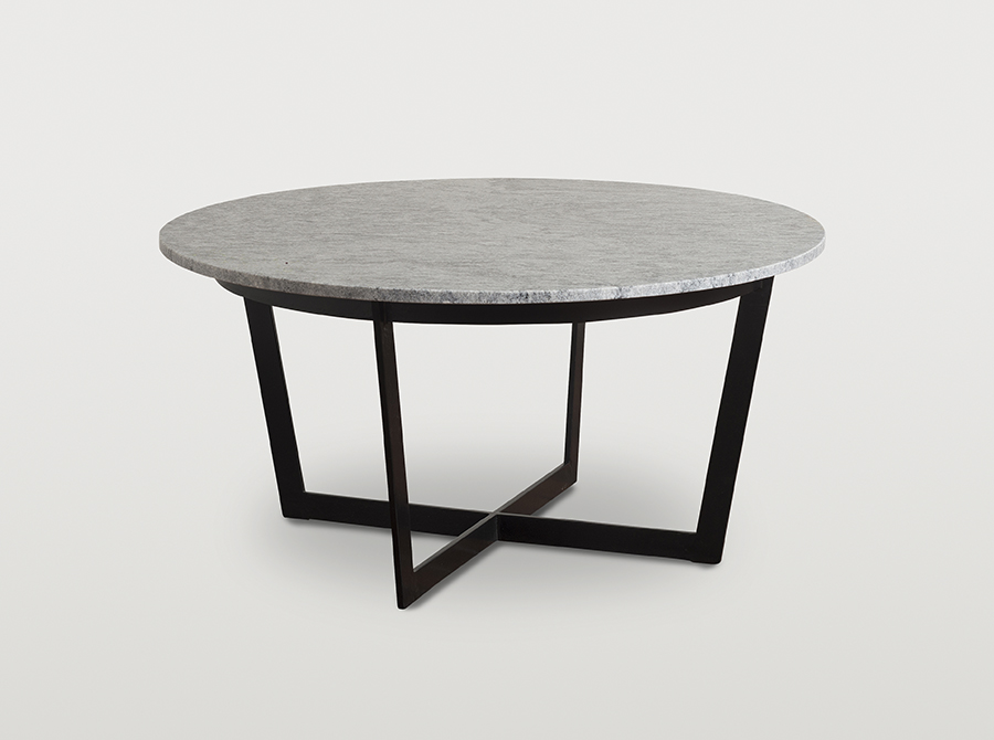 Corso Remington grey marble coffee table (medium)