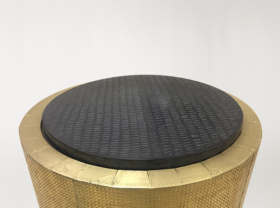 COMING SOON  |  Corso Monterey Side Table w/Black Marble