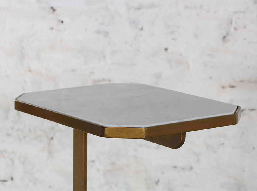 COMING SOON  |  Corso Octagonal sofa table with marble top