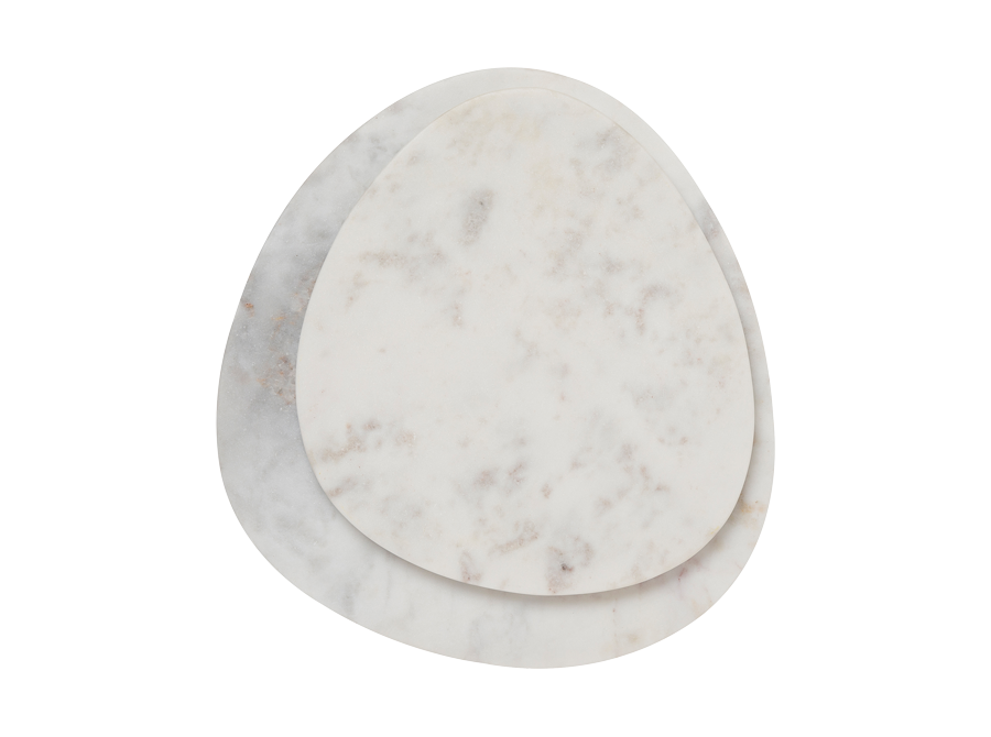 MARBLE CURVED SERVING BOARD