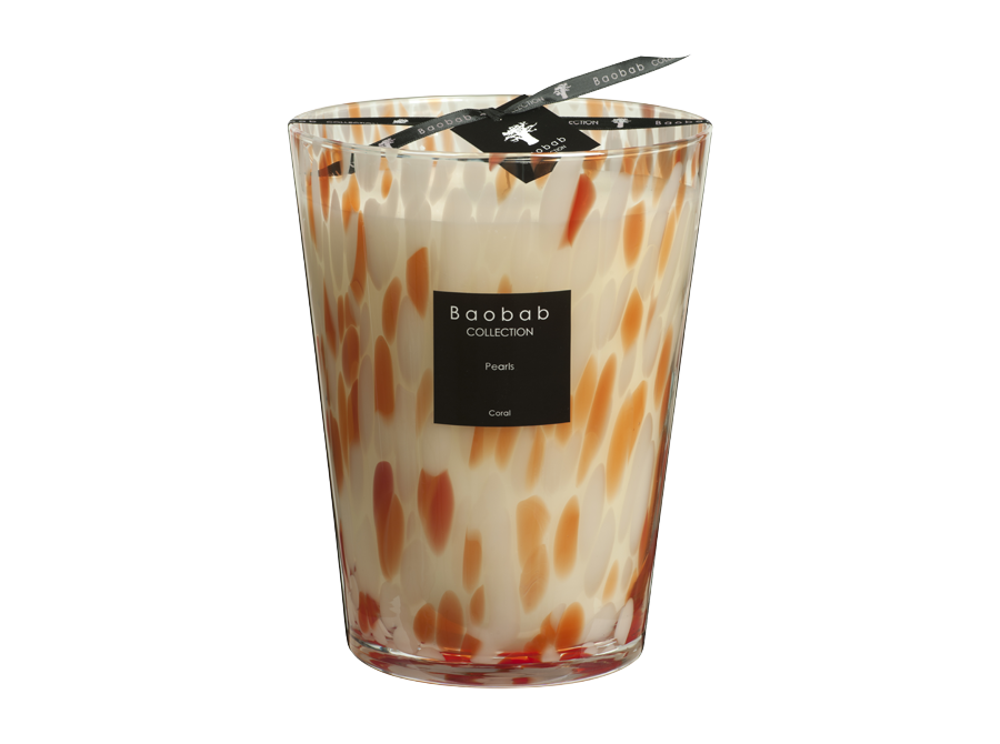 Coral Pearls Candle