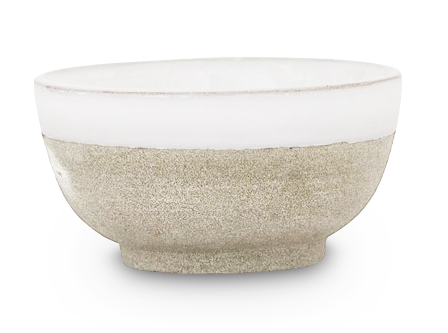MOROCCO HOME CLAY BOWL – WHITE