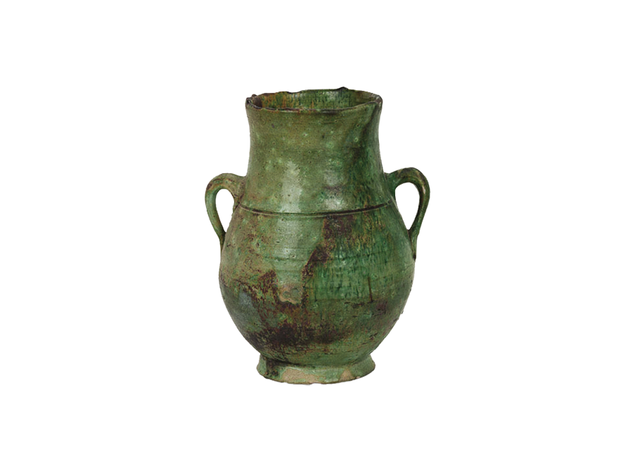 Moroccan green urn – small