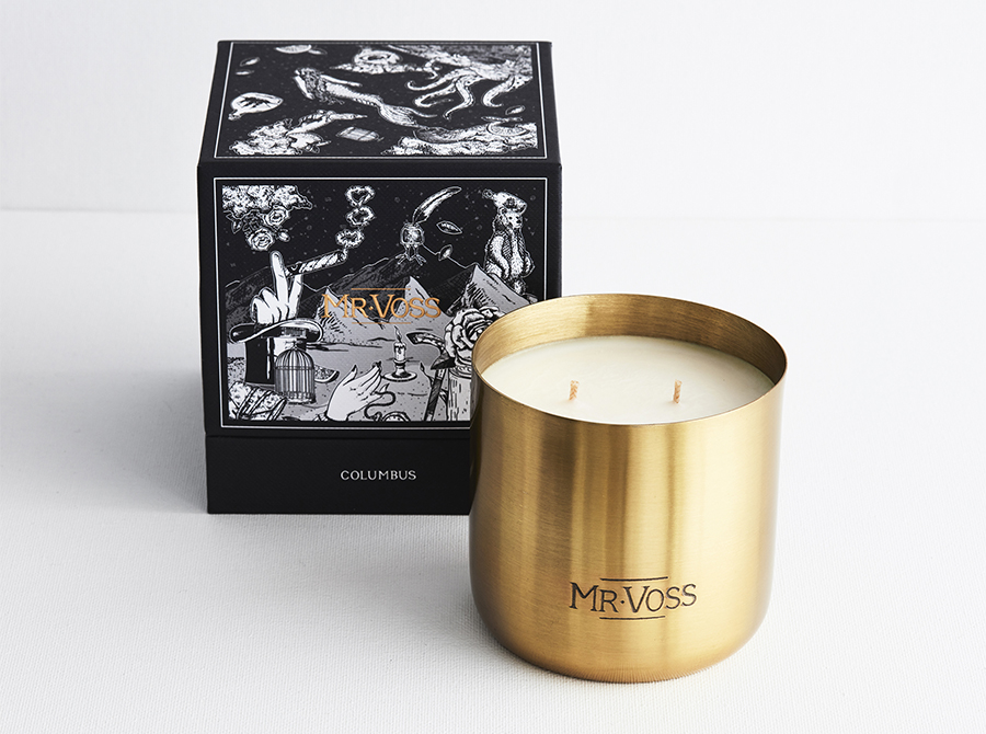 MR VOSS CANDLE – COLUMBUS