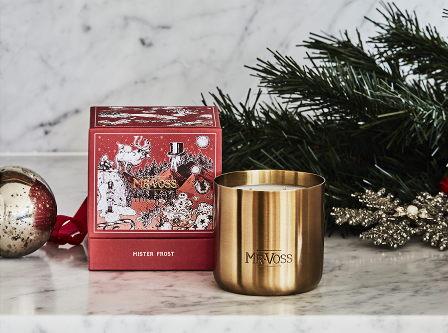 MR VOSS CHRISTMAS CANDLE – MR FROST