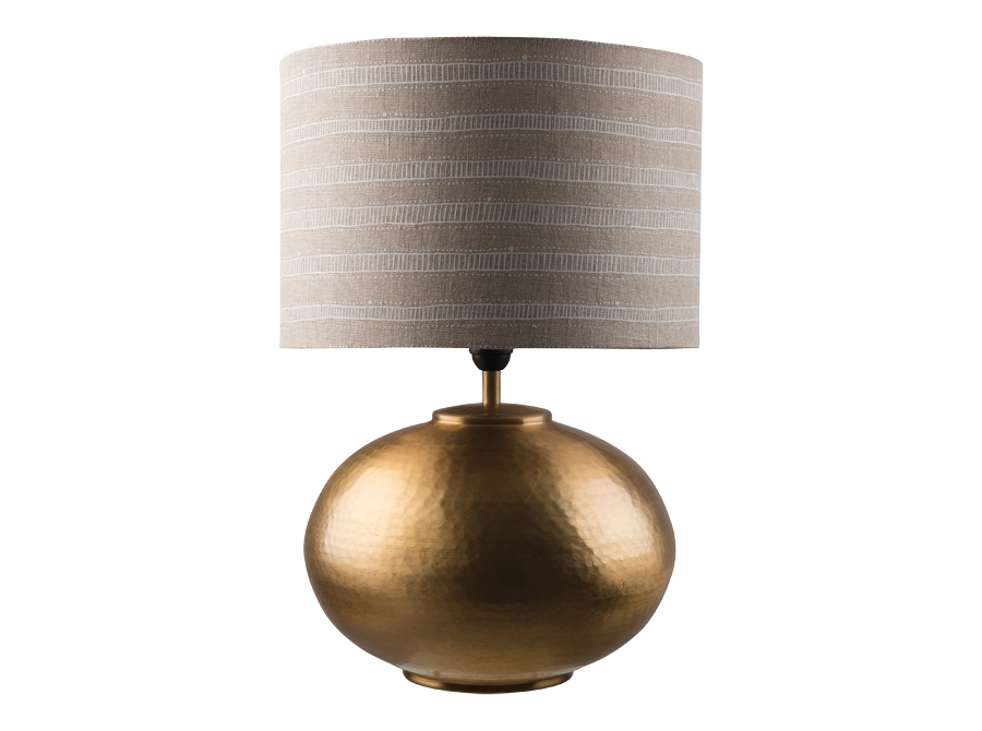 Gava Lamp Base - Antique Brass