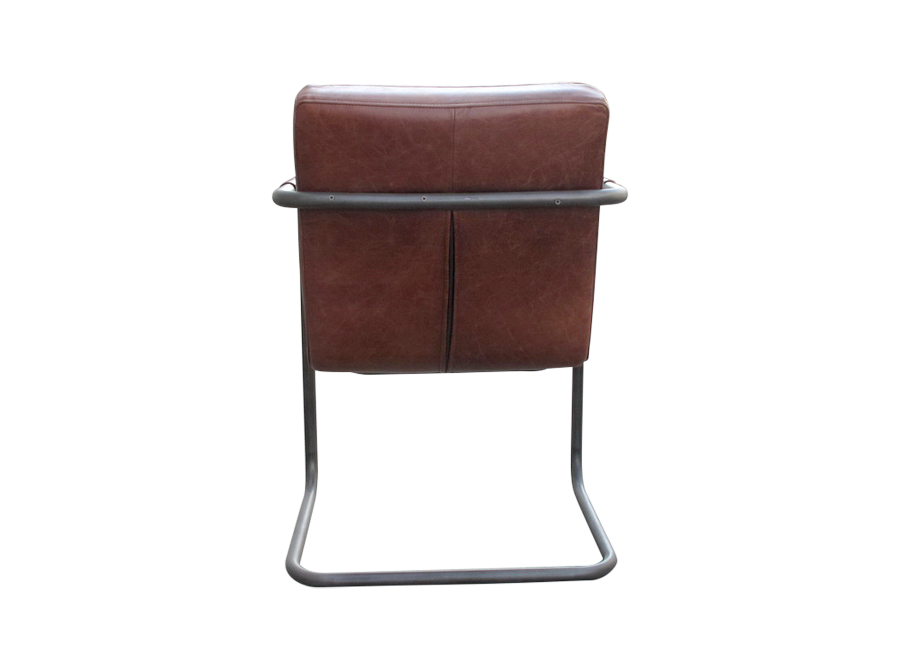 Leather Chair With Indents Corso De 39 Fiori Curators Of A Fascinating