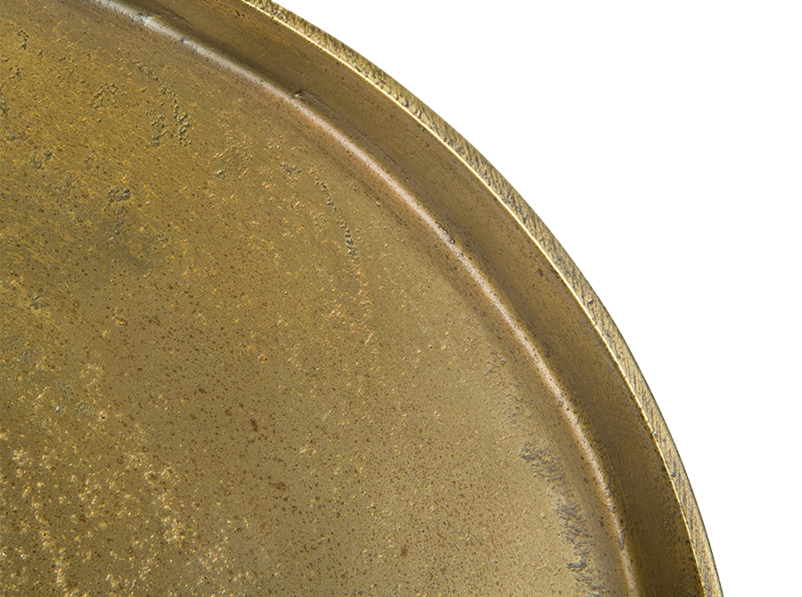 Pols Potten antique brass platters