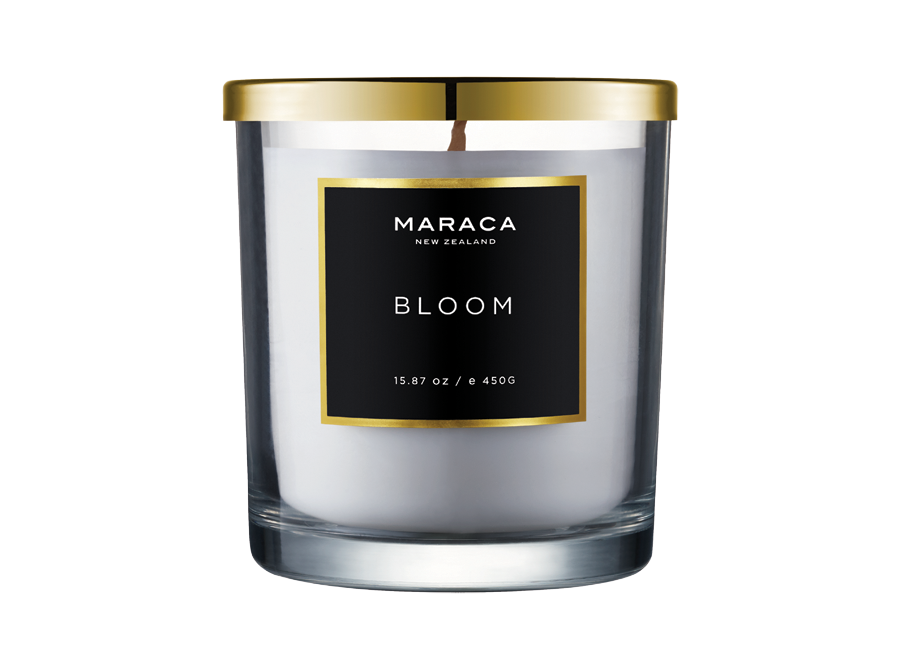 MARACA BLOOM SCENTED CANDLE