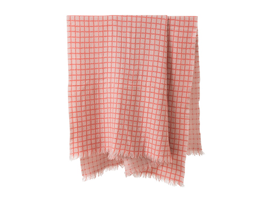 Grid Wool Throw – COLOUR OPTIONS AVAILABLE