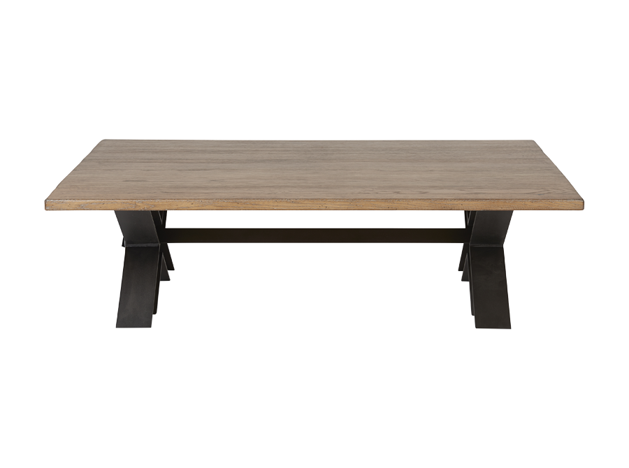 Artcopi petit meuble cross base coffee table corso de for Meuble artcopi manufacture