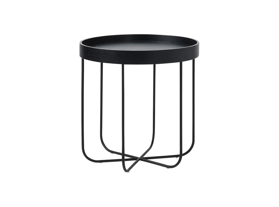 Segment Side Table Black