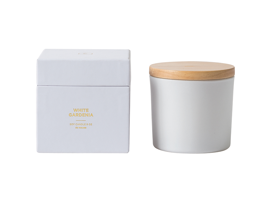 Città Candle w/Wooden Lid – FRAGRANCES AVAILABLE