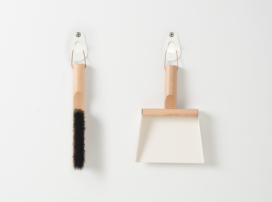 Andree Jardin Brush and Shovel Set - Cream